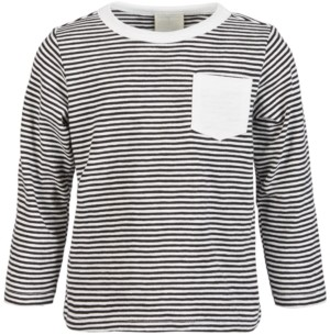 First Impressions Baby Boys Striped Pocket Cotton T-Shirt, Created for Macy's