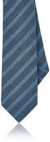 Barneys New York Men's Striped Knit Necktie