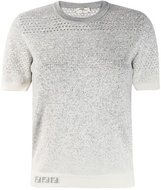 Fendi Gradient Style Knitted Jumper