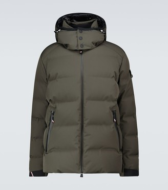 MONCLER GRENOBLE Montgetech quilted hooded jacket