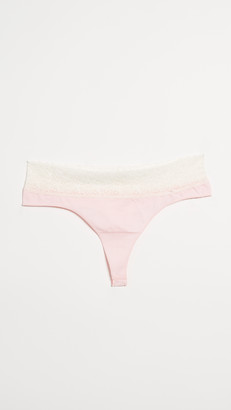 Rosie Pope Seamless Maternity Thong with Lace