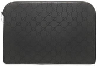 Gucci Pre-Owned GG Supreme iPad case
