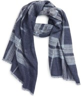 Nordstrom Women's Reversible Plaid Wrap