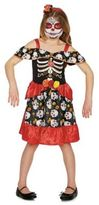 F&F Day of the Dead Halloween Costume, Kids Unisex