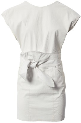 IRO \N White Leather Dresses