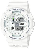 Casio Gax-100a-1aer G-shock G-lide Tide Graph Resin Strap Watch, White