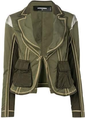 DSQUARED2 utility pocket blazer