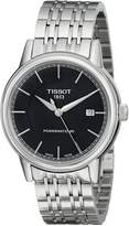 Tissot Men's T0854071105100 T Classic Powermatic Analog Display Swiss Automatic Watch