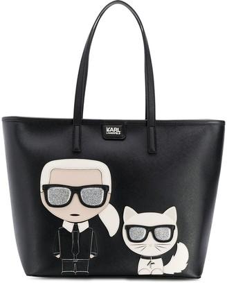 Karl Lagerfeld Paris K/Ikonik tote