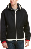 Moncler Armentieres Down & Wool Jacket