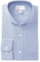 Nordstrom Houndstooth Trim Fit Dress Shirt