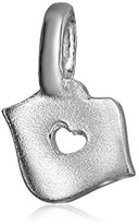 "Alex Woo Mini Additions"" Sterling Silver Kiss Charm"