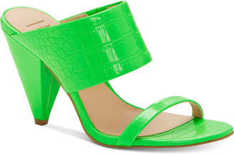 INC International Concepts Inc Women Lovisha Double-Strap Slide Heels, Women Shoes