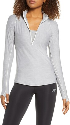 New Balance Transform Half Zip Pullover