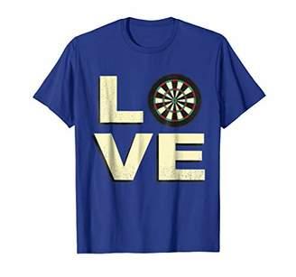 D+art's Love Darts Sports Dart Board T Shirt