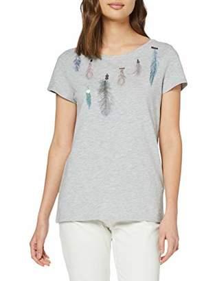 Esprit Women's 049ee1k065 T-Shirt,Small
