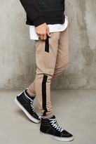 Forever 21 FOREVER 21+ Colorblock Quilted Sweatpants