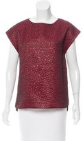 Zadig & Voltaire Sleeveless Brocade Top