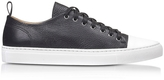Ylati Sorrento Low Black Leather Men's Sneaker