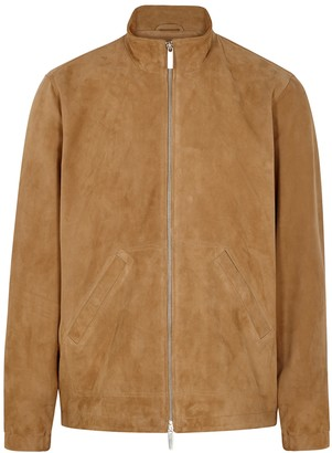 NN07 Acton camel suede jacket