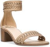 Fergalicious Phoenix Block-Heel Sandals