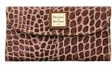 Dooney & Bourke Croco Fino Checkbook Organizer.