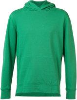 John Elliott - zipped side pockets hoodie - men - Cotton - S