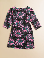 Milly Minis Girl's Julia Three-Quarter-Sleeve Shift Dress