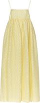 Cecilie Bahnsen Beth Strapless Linen-Blend Dress