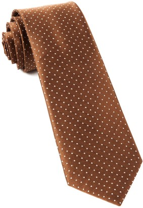 The Tie BarThe Tie Bar Brown Mini Dots Tie
