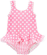 Flap Happy Candy Punch Ruffle-Skirt One-Piece - Infant