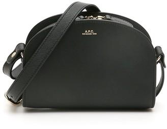 A.P.C. Demi Lune Mini Crossbody Bag