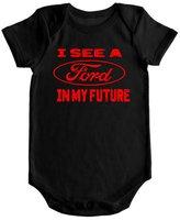 VRW I see a Ford in my future unisex baby Onesie Romper Bodysuit (3-6 months, )