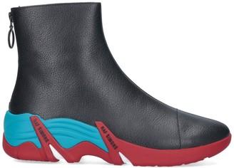 Raf Simons Cyclon Zipped Ankle Boots