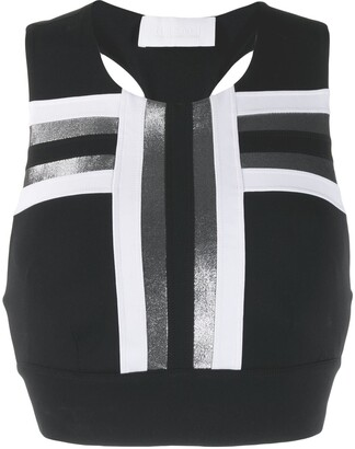 NO KA 'OI Stripe Detail Sport Top