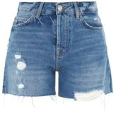 Topshop Moto ashley boyfriend shorts