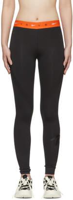 Reebok x Victoria Beckham Black Panelled Leggings