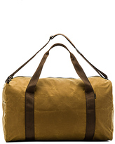 Filson Medium Field Duffle in Tan.
