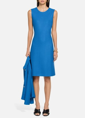 St. John Honeycomb Stitch Dress