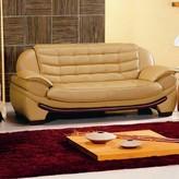 Hokku Designs Westminster Leather Sofa