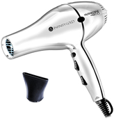 Infinity Gold Professional Blow Dryer with Micro-Gold Gem Tourmaline Heater - White