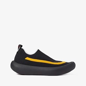 Marni Knit Tube Sole Sneaker (Black/Lemon) Men's Shoes