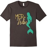 Bridesmaid Mer Tribe Mermaid Shirt Wedding Bachelorette Gold