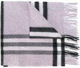Burberry 'Nova Check' scarf - women - Cashmere - One Size