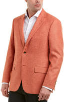 Hickey Freeman Milburn Ii Wool, Silk, & Linen-Blend Sportcoat