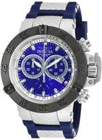 Invicta Men's 'Subaqua' Swiss Quartz Stainless Steel and Silicone Casual Watch, Color: (Model: 90128)