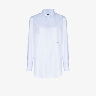 HommeGirls X Browns 50 classic button-up cotton shirt
