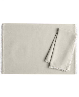 """Lenox French Perle 13"""" x 19"""" Placemat"""