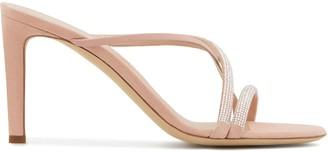 Giuseppe Zanotti Crystal Studded Strappy Sandals