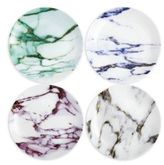 Prouna Marble Coupe Plate/Set of 4